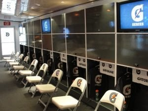 Gatorade Locker Room