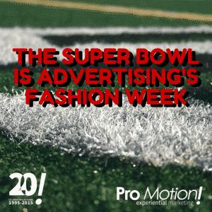 The Super Bowlis Advertising'sFashion