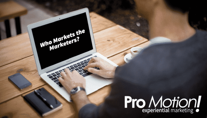 Who Markets the Marketers?